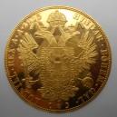 Zlatá investiční mince 4 Dukát 1915 (novoražba)