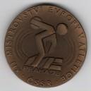 Medaile XII. mistrovství Evropy v atletice - Praha´78, rok 1978