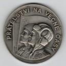 1950  - Stříbrná medaile 5. výročí osvobození města Jablonce nad Nisou