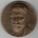 Medaile Prof. MUDr. Sigmund Freud, rok 1981