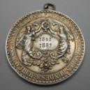 IX. německé spolkové střelby Frankfurt n./Mohanem - 1887