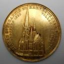 Zlatá medaile Kirche St. Johannis Hamburg - 1882