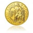 Zlatá investiční mince 1000 NZD Dobrá královna Anna - Standard