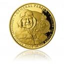 Zlatá investiční mince 100 NZD Generál Peřina - Proof