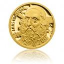 2014 - Zlatá medaile Pocta O. Kulhánkovi s motivem 200 Kč bankovky - J. A. Komenský