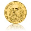 2014 - Zlatá investiční medaile s motivem 200 Kč bankovky - J. A. Komenský