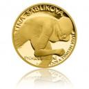 2014 - Zlatá mince 5 NZD Martina Sáblíková - Proof - Au 1/4 Oz