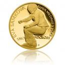 2014 - Zlatá mince 5 NZD Eva Samková - Proof - Au 1/4 Oz