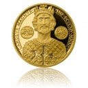 2014 - Zlatá mince 10 NZD Karel Veliký - Proof - Au 1/2 Oz