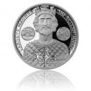 2014 - Stříbrná mince 50 centů Karel Veliký