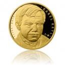 2014 - Stříbrná pozlacená medaile Karel Kryl