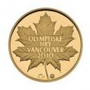 Zlatá medaile Olympijské hry Vancouver, Au 1/4 Oz