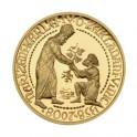 2008 - Zlatá medaile Zakládání vinic Karlem IV., Au 1/2 Oz