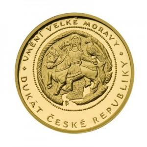 2008 - Jednodukát České republiky, Au 1/10 Oz
