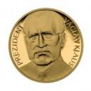 2008 - Zlatá medaile Prezident Václav Klaus, Au 1/4 Oz