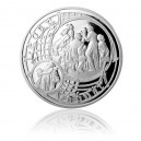 2014 - Postříbřená medaile Staroměstský orloj - Vodnář