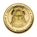 2008 - Zlatý Dvoudukát České republiky, Au 1/4 Oz