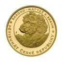 2008 - Zlatý Pětidukát České republiky, Au 1/2 Oz