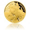 2014 - Zlatá medaile Dějiny válečnictví - Atentát v Sarajevu - Au 1 Oz