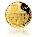 2014 - Zlatá medaile Rozhledna Josefova věž na Kleti - Au 1 Oz