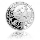 2014 - Stříbrná medaile Staroměstský orloj - Lev