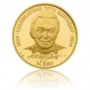 2013 - Zlatá medaile Karel Gott - Au 1 Oz - anglická verze