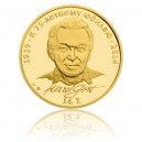 2014 - Zlatá medaile Karel Gott - Au 1 Oz - ruská verze
