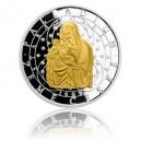 2014 - Stříbrná mince 5 NZD Palladium země české - Proof