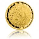 2014 - Zlatá mince 25 NZD Palladium země české - Proof