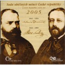 Sada oběžných mincí České republiky 2005 - Bedřich Smetana, Antonín Dvořák