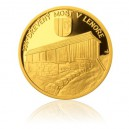 2013 - Most v Lenoře - zlatá mince z cyklu Mosty České republiky, Proof