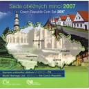 Sada oběžných mincí České republiky 2007 - UNESC0