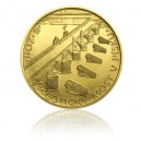 2011 - Most v Písku - zlatá mince z cyklu Mosty České republiky, b.k.