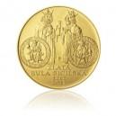 2012 - Zlatá mince Zlatá bula sicilská, b.k.