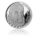 2011 - Stříbrná mince Petr Vok z Rožmberka, Proof