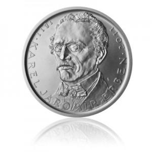 2011 - Stříbrná mince Karel Jaromír Erben, b.k.