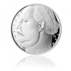2012 - Stříbrná mince Jiří Trnka, b.k.