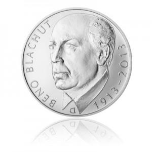 2013 - Stříbrná mince Beno Blachut, b.k.