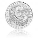Stříbrná mince Kryštof Harant z Polžic a Bezdružic, b.k.