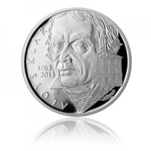 2013 - Stříbrná mince Alois Klar, Proof