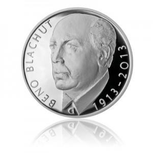 2013 - Stříbrná mince Beno Blachut, Proof