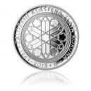 2013 - Stříbrná mince Založení kláštera Zlatá koruna, Proof