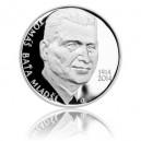 Stříbrná mince Tomáš Baťa ml., Proof