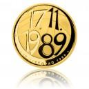 2014 - Zlatá medaile 17. listopad 1989 - Au 1/2 Oz