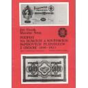Podpisy na ruských a sovětských papírových platidlech z období 1898 - 1923