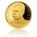 2015 - Zlatá mince 10 NZD Josef Masopust - Au 1/4 Oz