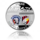 2013 - Stříbrná medaile Plzeň město mistrů - kolorováno