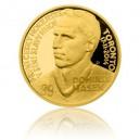 2015 - Zlatá medaile Dominik Hašek - číslováno - Au 1/2 Oz
