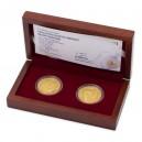 2015 - Sada dvou zlatých medailí Bratři Čapkové