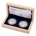 2015 - Sada dvou stříbrných medailí Bratři Čapkové